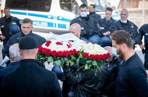 Hubschrauber und hunderte Polizisten in Berlin