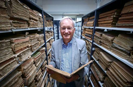 Der ausgezeichnete Archivleiter