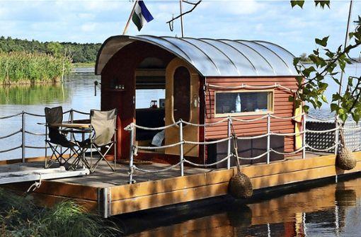 Kein Floßbootverleih am Neckarufer