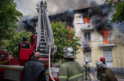 Tote bei Gefechten in Mariupol