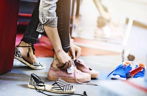 Wenn beim Online-Kauf der Schuh drückt