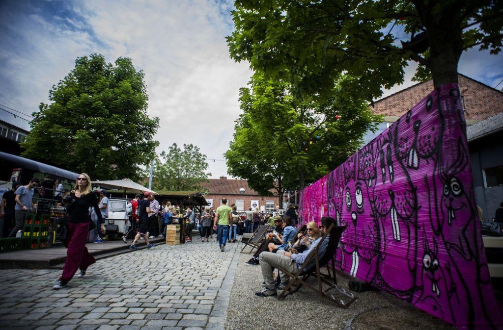 Die Kulturinsel lädt (wie auf dem Foto vom vergangenen Jahr) wieder zum Tag der offenen Tür. Foto: Lichtgut/Max Kovalenko