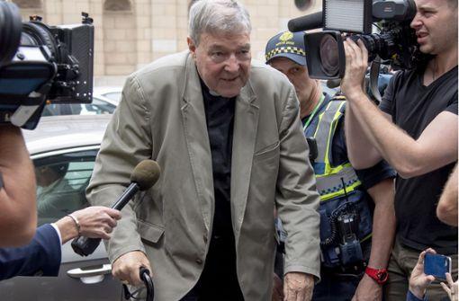 Kardinal George Pell des Kindesmissbrauchs für schuldig befunden
