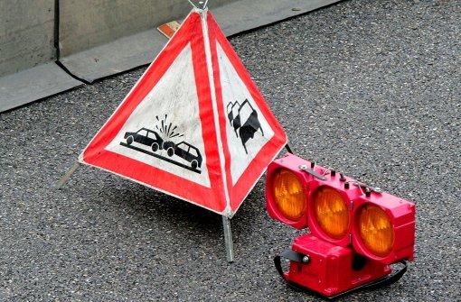 A 8: Und schon wieder zwei Unfälle