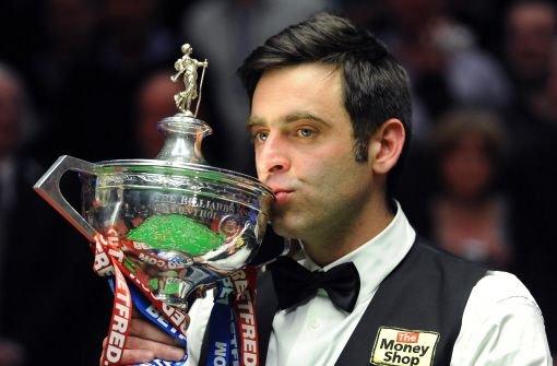 Ronnie OSullivan zum vierten Mal Snooker-Weltmeister