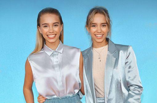 Lisa und Lena eröffnen Pop-up-Store