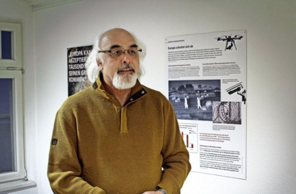 Jama Maqsudi kam vor 40 Jahren aus Afghanistan nach Deutschland. Er engagiert sich seit vielen Jahren in der Flüchtlingshilfe. Foto: factum/Bach