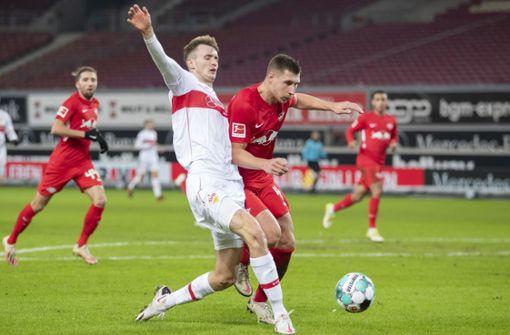 RB Leipzig ist für den VfB Stuttgart zu stark