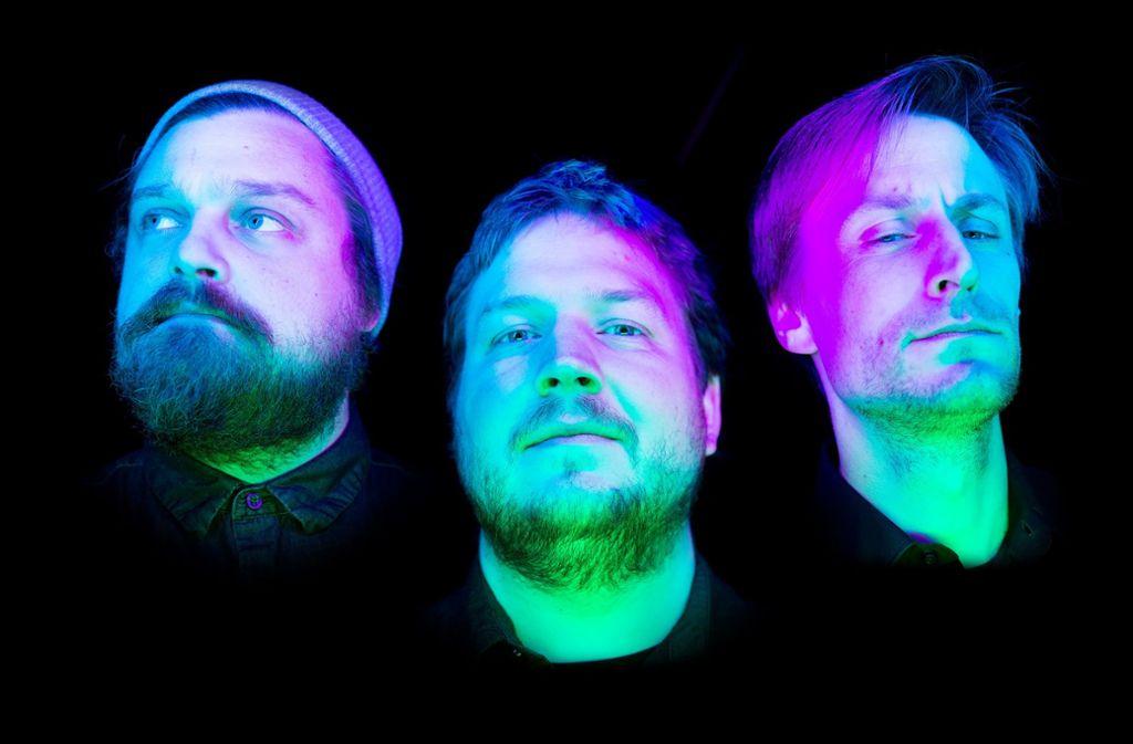 Das Florian Vogel Trio spielt Jazz und improvisierte Musik. Foto: Andreas Kustreba