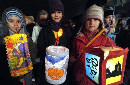 Die Freude in den Augen der Kinder motiviert den Bürgerverein genug. Foto: dpa