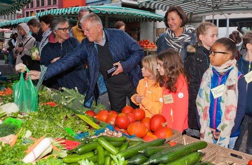Richtig Gemüse einkaufen mit Fritz Kuhn