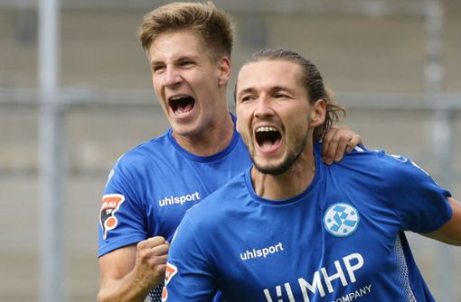 Stuttgarter Kickers: erst im Pech, dann im Glück