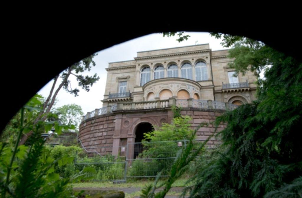 Die Stadt Stuttgart erwirbt die Villa Berg. Foto: dpa