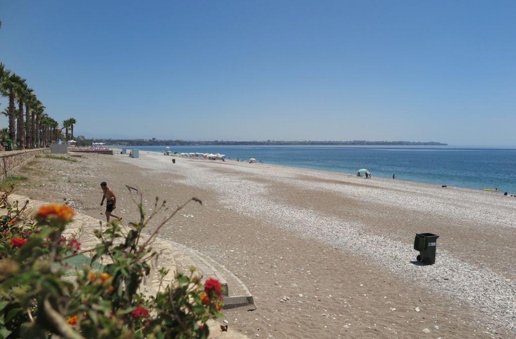 Ein Saisonstart ohne Urlauber, verzweifelte Händler: An der türkischen Riviera ist die Krise der Tourismus-Industrie deutlich zu spüren. Foto: dpa