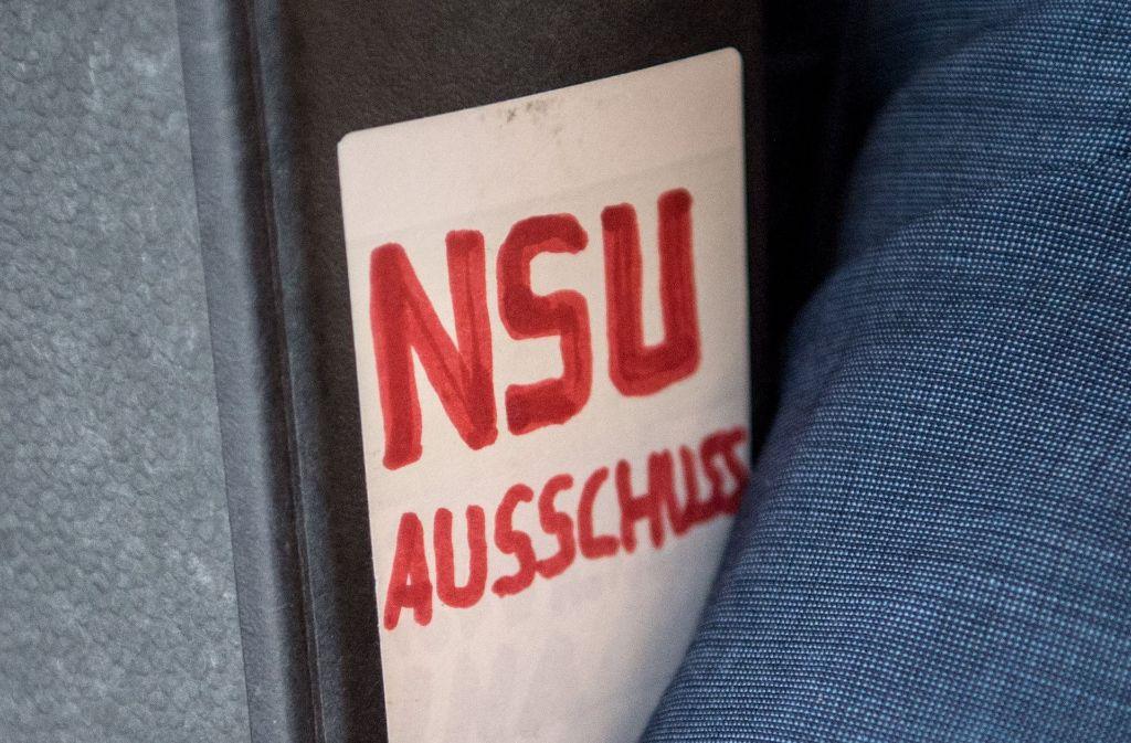 Laut dem Ausschusschef Wolfgang Drexler (SPD) steht fest, dass die Sauerlandgruppe keine Verbindungen zum NSU gehabt hat. (Archivfoto) Foto: dpa