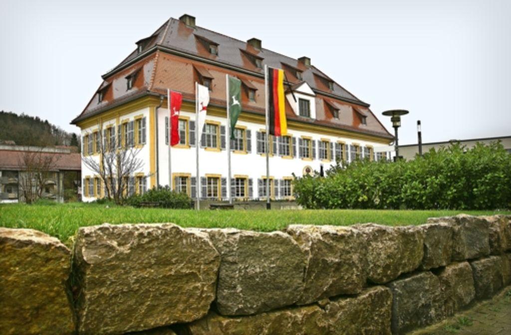 """Wer wird der neue """"Schlossherr"""" in Rechberghausen? Am  26. April wird der Nachfolger von Bürgermeister Reiner Ruf gewählt. Foto: Horst Rudel"""