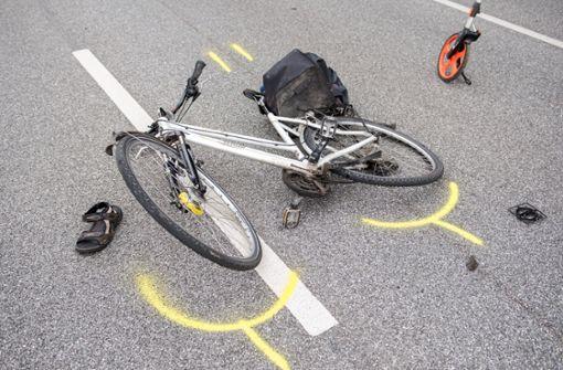 Radfahrer beim Abbiegen verletzt