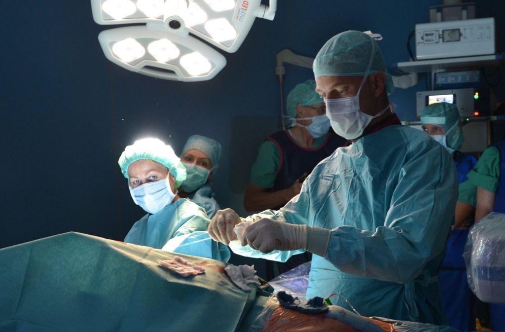 In Deutschland erleiden jedes Jahr rund 170 000 Menschen einen Schlaganfall. Zwischen 600 und 700 Stents werden in verengte Blutgefäße des Gehirns eingesetzt. Foto: dpa