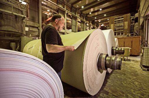 Die Papierfabrik Scheufelen setzt auf Gras