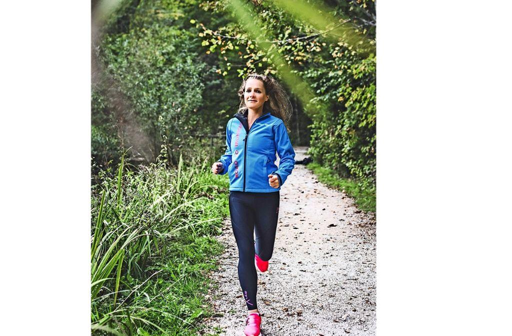 Antonia Gust: Das Projekt Ironman  ist längst gestartet. Foto: Kathrin Gollackner