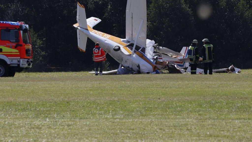 Unfall trübt Flugspektakel