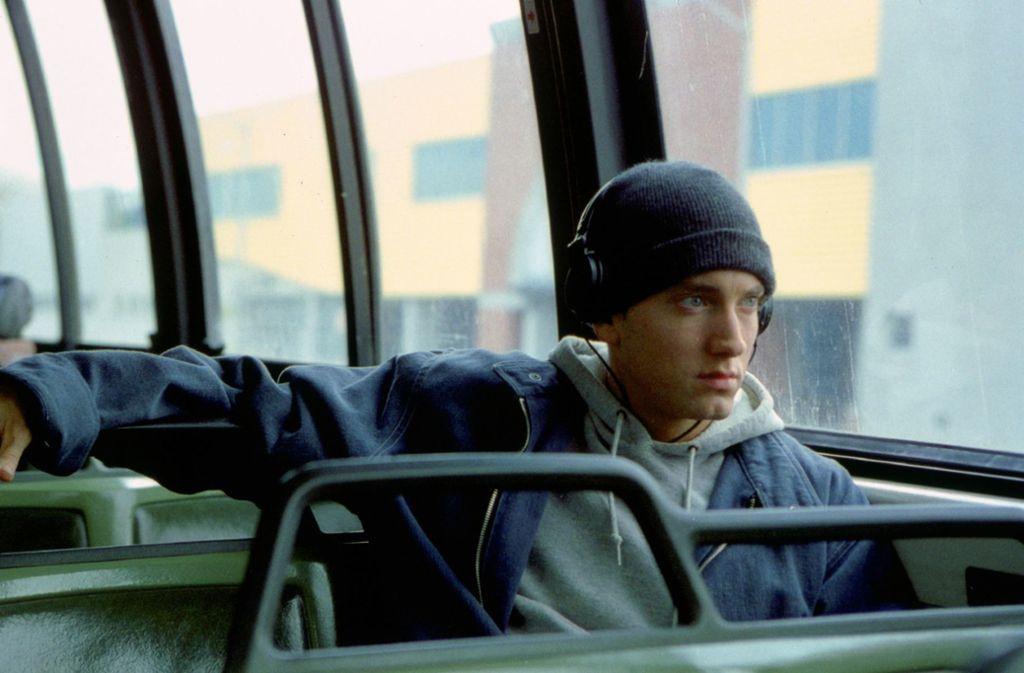 """Eminem in einer Szene aus dem Film """"8 Mile"""" von 2002 Foto: imago/Mary Evans"""