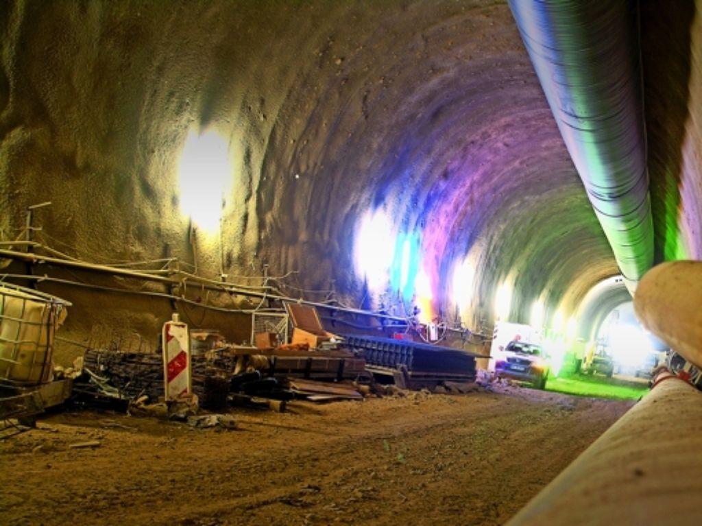 Die Bahn hat –  auch aus Kostengründen –  beim letzten Bauabschnitt der ICE-Strecke Wendlingen-Ulm auf den Einsatz einer Tunnelbohrmaschine  verzichtet. Foto: Rüdiger Bäßler