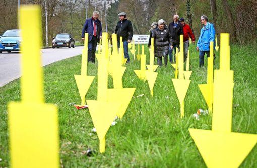 Gelbe Hingucker gegen Straßenvermüllung