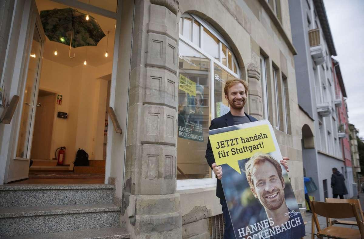 Will Fritz Kuhn im Stuttgarter Rathaus beerben: Hannes Rockenbauch Foto: Lichtgut/Julian Rettig