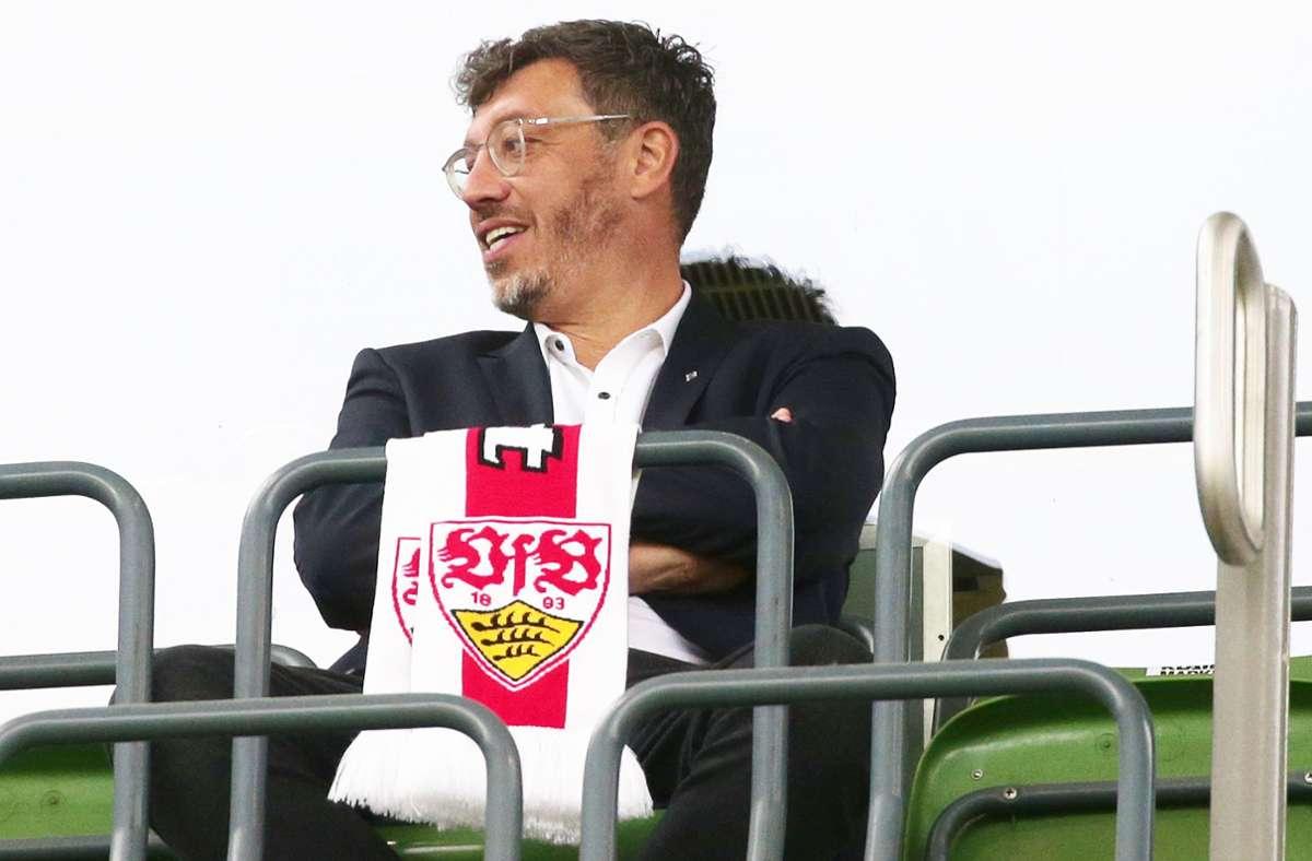 Claus Vogt will erneut für das Amt des VfB-Präsidenten kandidieren. Foto: Baumann