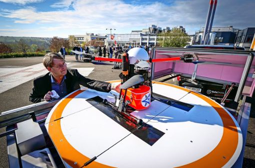 Der Corona-Test kommt bald per Drohne