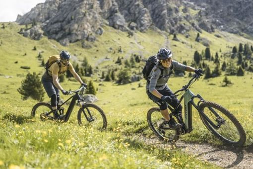 Selbst für weniger Geübte ist das Biken mit E-Antrieb in den Alpen möglich. Das stellt die Tourismusbranche vor neue Aufgaben.