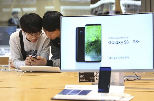 Samsung bringt Galaxy S8 in den Handel