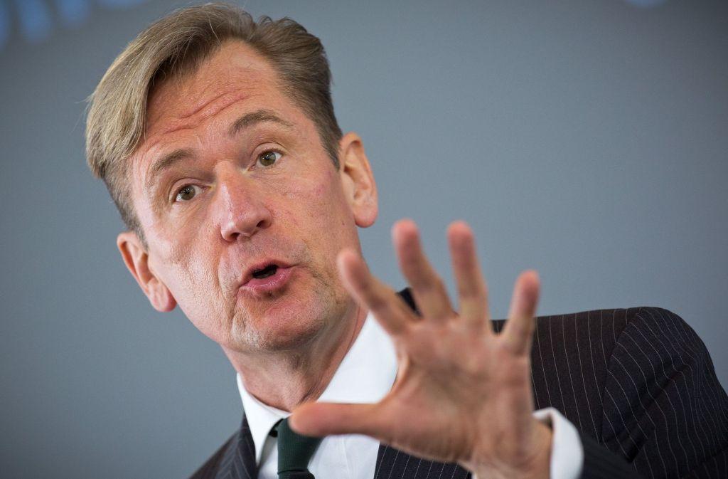 Mathias Döpfner, Vorstandsvorsitzender der Axel Springer SE, hat die Bedeutung von Fake News relativiert. Foto: dpa