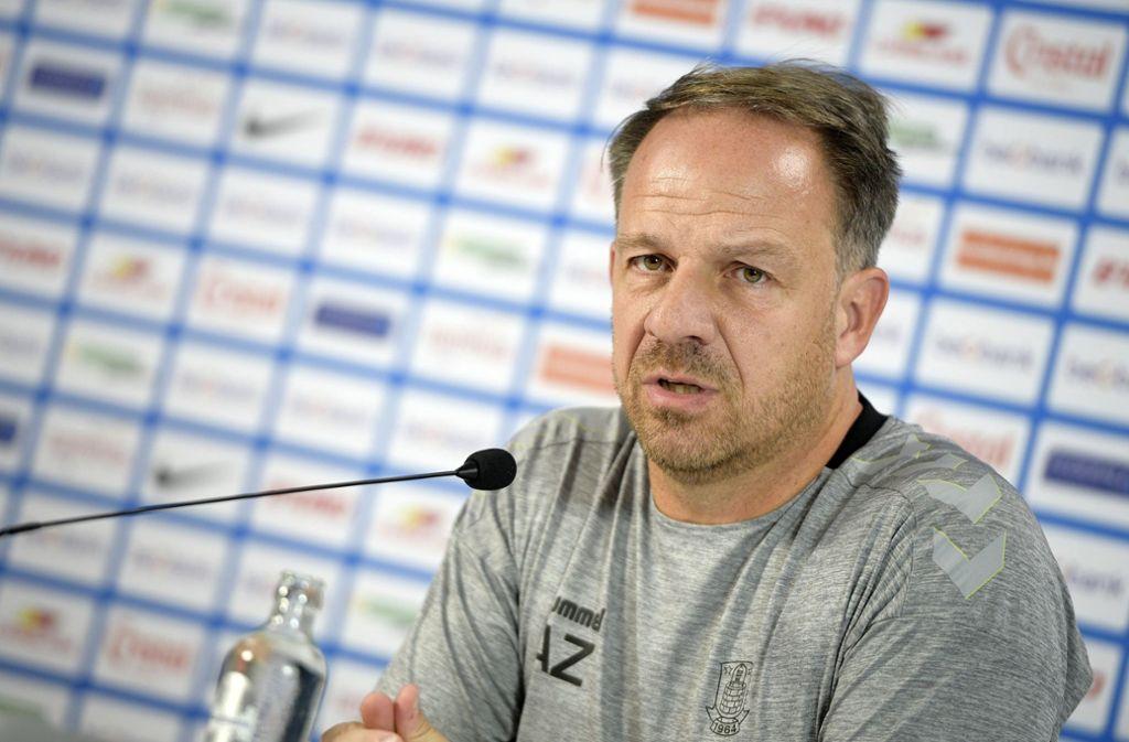 Alexander Zorniger: Der Ex-Coach von RB Leipzig und des VfB Stuttgart genießt die Unaufgeregtheit in der dänischen Hauptstadt. Foto: BELGA