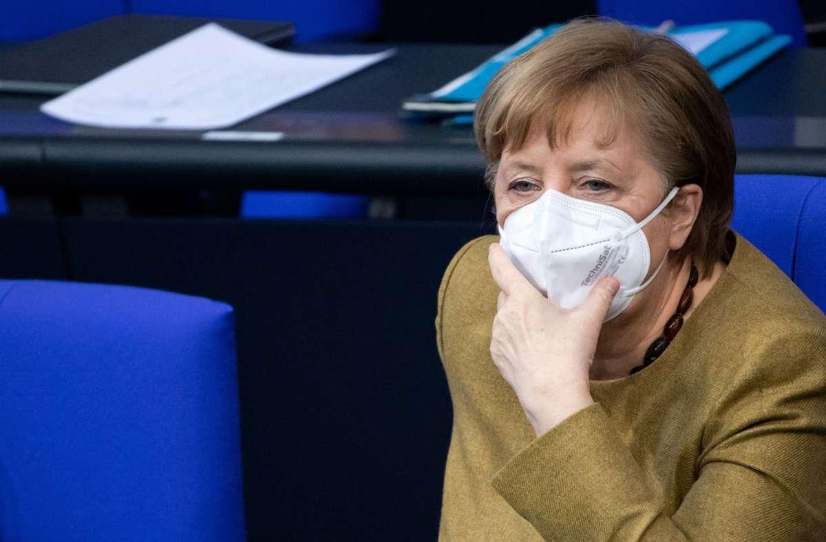 Bundeskanzlerin Angela Merkel sollte nach dem Willen der FDP schnell geimpft werden. Foto: dpa/Bernd von Jutrczenka