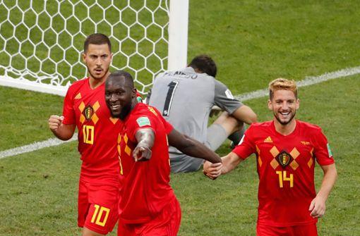 Belgien besiegt Außenseiter Panama souverän