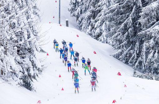 Drei weitere Biathleten in Oberhof in Quarantäne