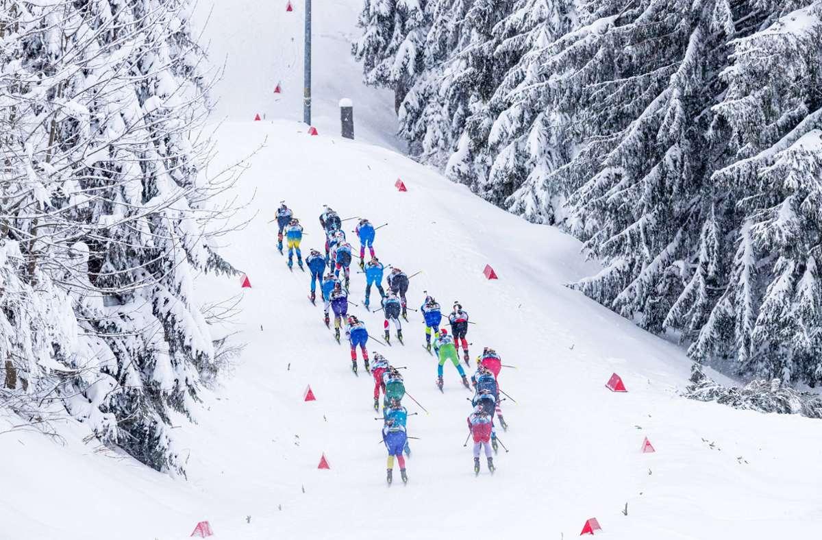 Weitere Corona-Fälle beim Biathlon-Weltcup (Symbolbild) Foto: imago images/Christian Heilwagen