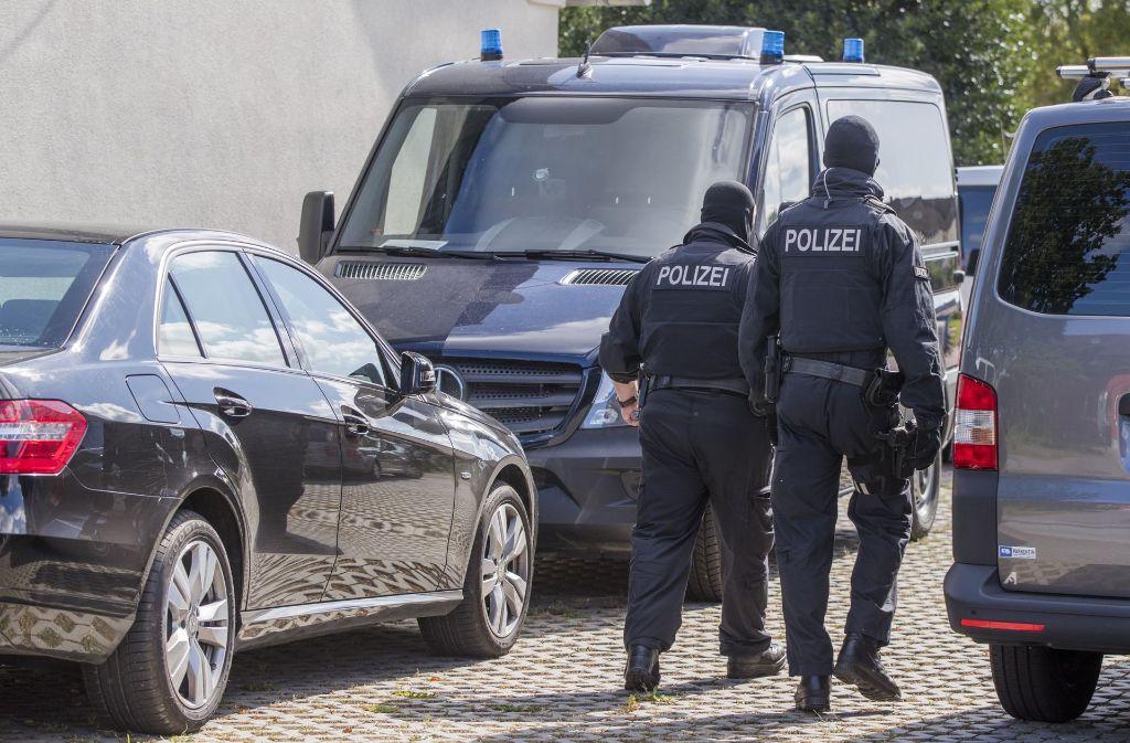 In der vergangenen Woche waren in Mecklenburg-Vorpommern Wohnungen durchsucht worden. Foto: dpa