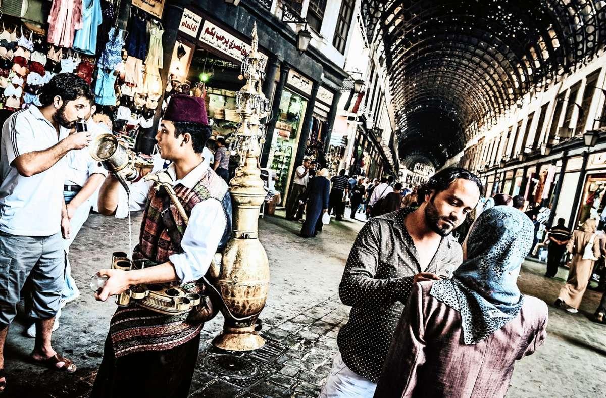 Der Journalist Lutz Jäkel bereiste Syrien immer wieder vor dem Beginn des Krieges 2011. Das Foto zeigt den berühmten Suq al-Hamidiyye in Damaskus. Foto: Lutz Jäkel