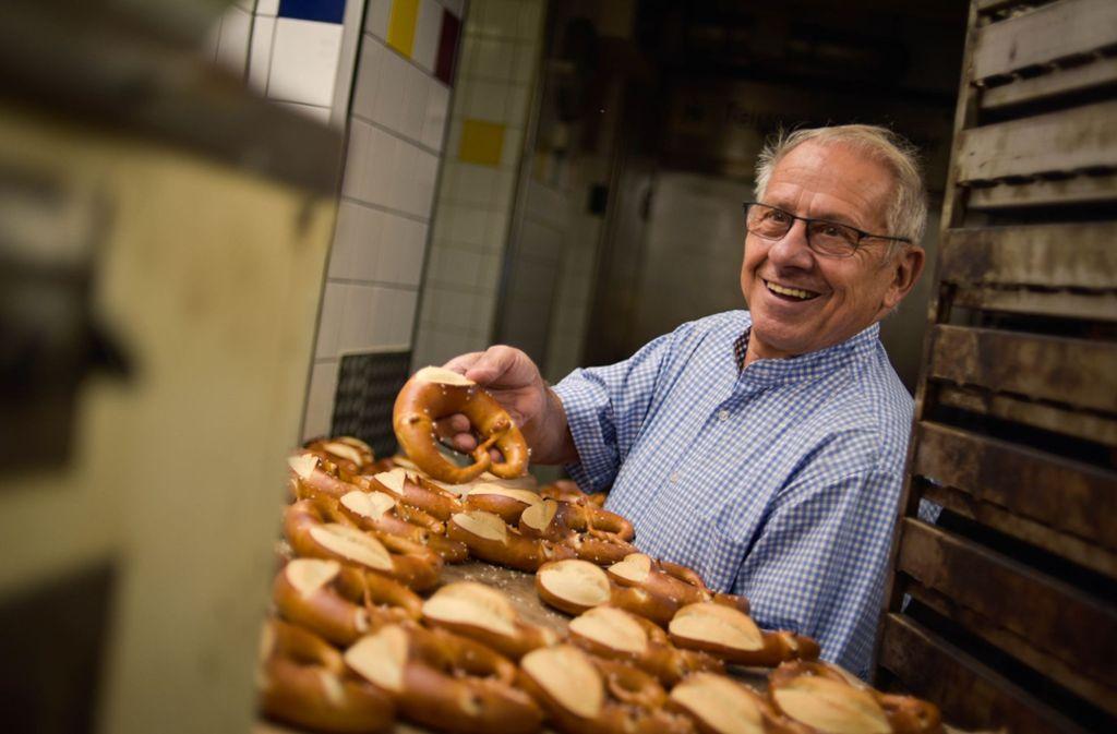 Alte Schule: Bäckereimeister Rudolf Frank. Foto: Lichtgut/Max Kovalenko
