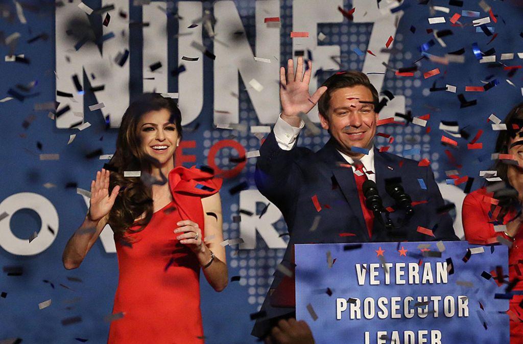Hat der Republikaner Ron DeSantis in Florida wirklich mehr Stimmen als sein Konkurrent geholt? Foto: Orlando Sentinel