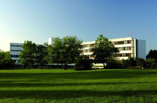 Darmzentrum  im  Krankenhaus in Aussicht