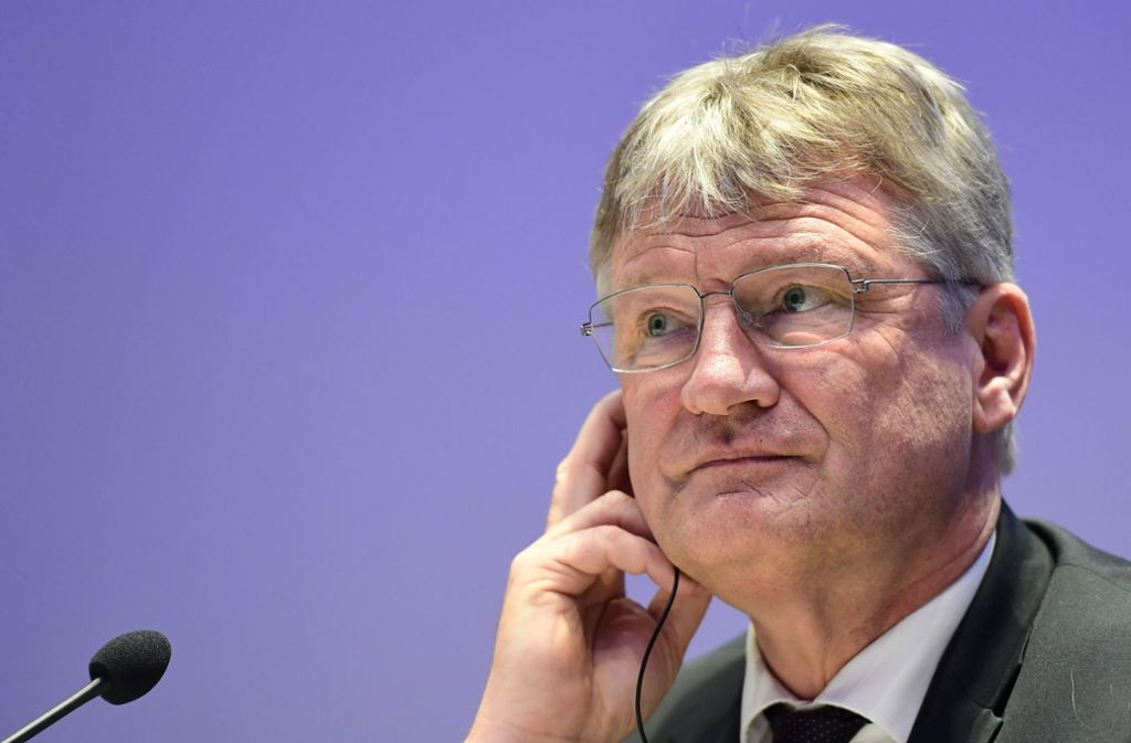 Die Spende an den AfD-Chef Jörg Meuthen war illegal. Foto: AFP