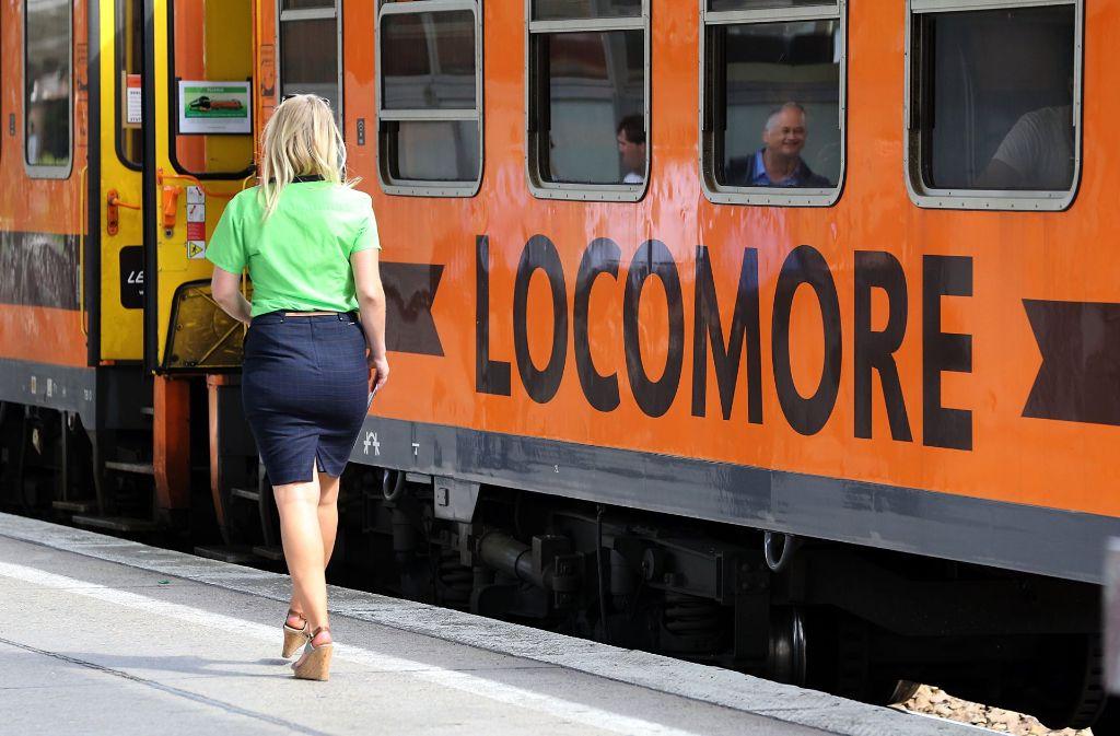 Verglichen mit Intercity und ICE der Deutschen Bahn ist das Locomore-Angebot klein. Foto: dpa