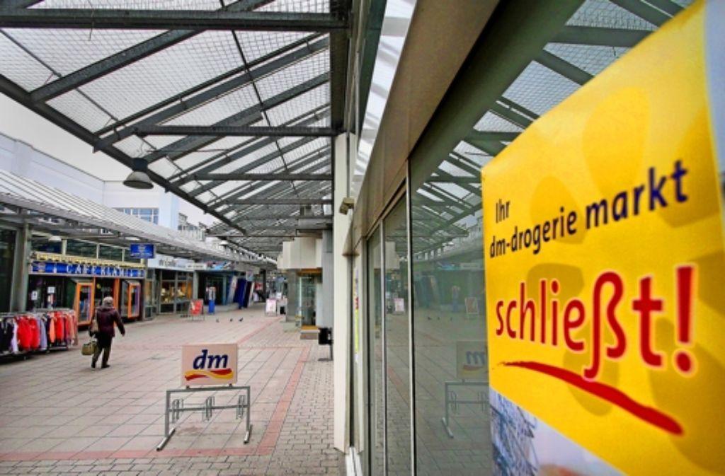 Immer leerer wird es im Kaufzentrum. Foto: factum/Granville