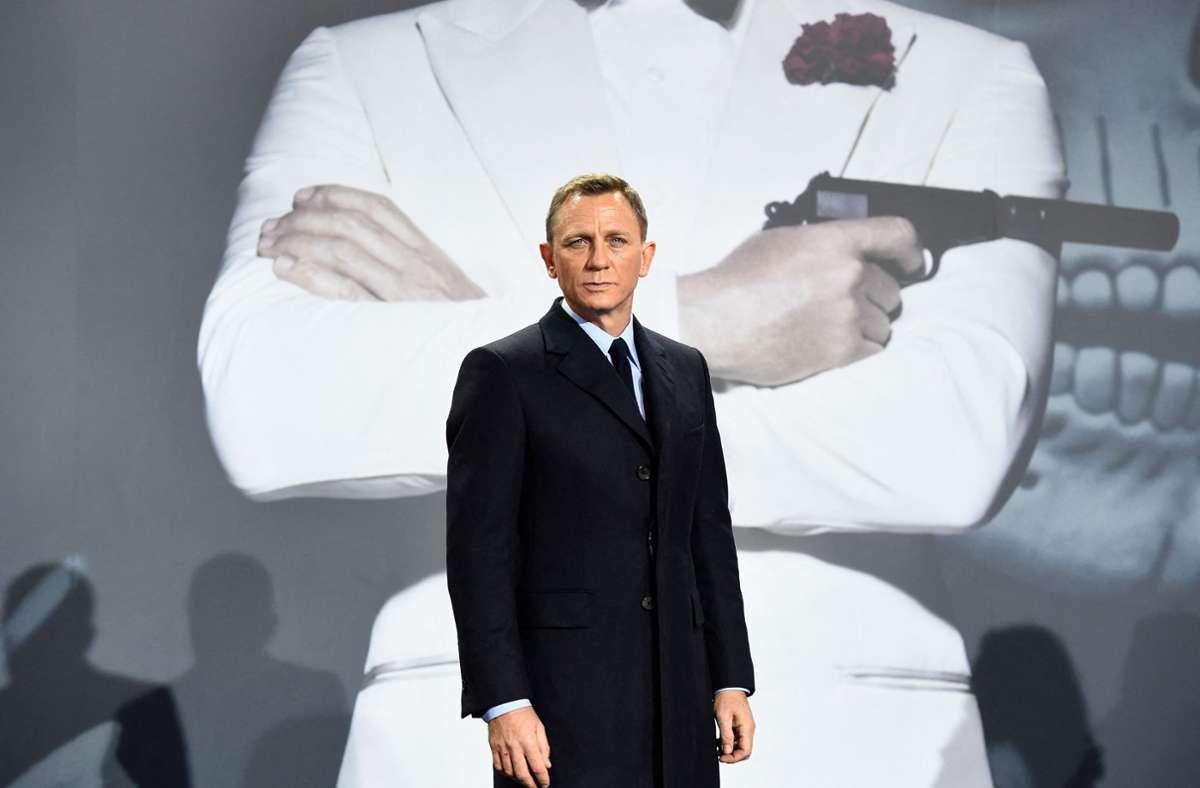Noch ein letztes Mal als James Bond: Daniel Craig. Foto: AFP/TOBIAS SCHWARZ
