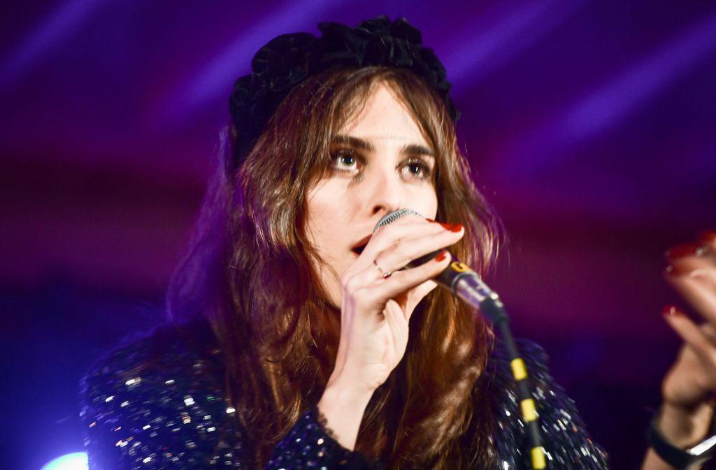 Sophie Auster hat vor einem kleinen Publikum ein großes Konzert gegeben. Foto: Lichtgut/Ferdinando Iannone