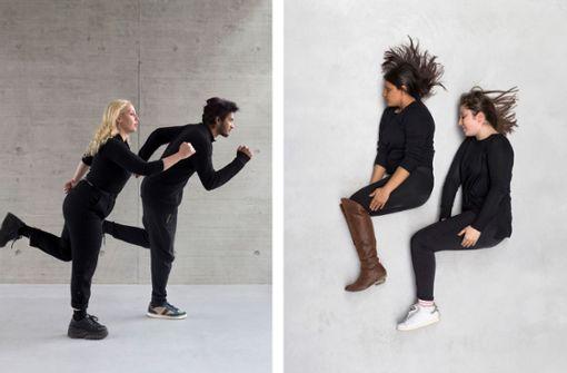Wegwerfen und tanzen